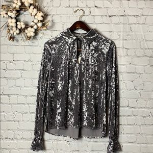 Romeo and Juliet Couture | Crushed Velvet Blouse